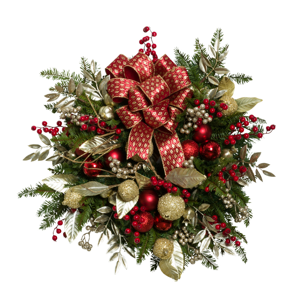 "24"" Decorated Wreath"