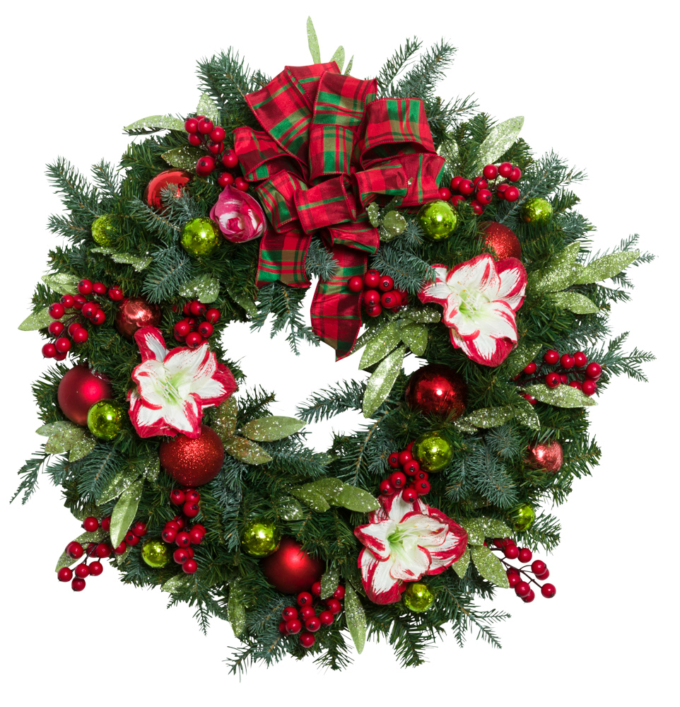 "30"" Decorated Wreath"